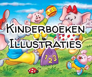 Kinderboeken-illustraties