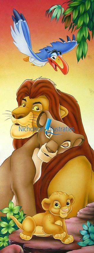 Lion King illustratie