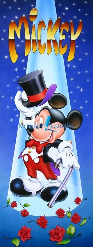 Mickey illustratie