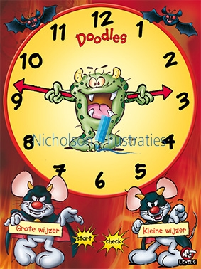 5-Doodles-clock-app-monster