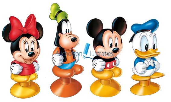 Disney Stickeez
