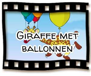 giraffe-met-ballonnen