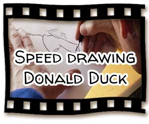 speed-drawing-donald-duck