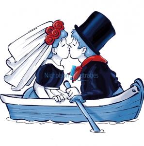 Afbeeldingsresultaat voor huwelijksbootje